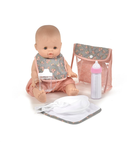 Doll feeding set