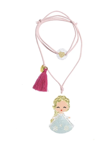Image of Girls Princess Doll Necklace