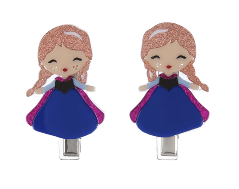 Image of Girls Princess Doll Hairclips