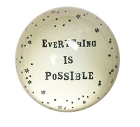Paperweight with Quote