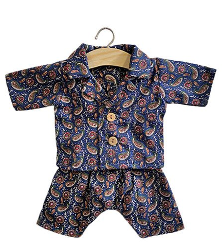 Jacquard navy pajamas NEW RTS