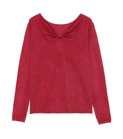 Image of Bach Red Sweater