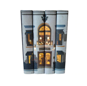 Goyard Set of 4 Decorative Books