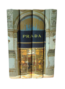 Prada Set of 4 Decorative Books