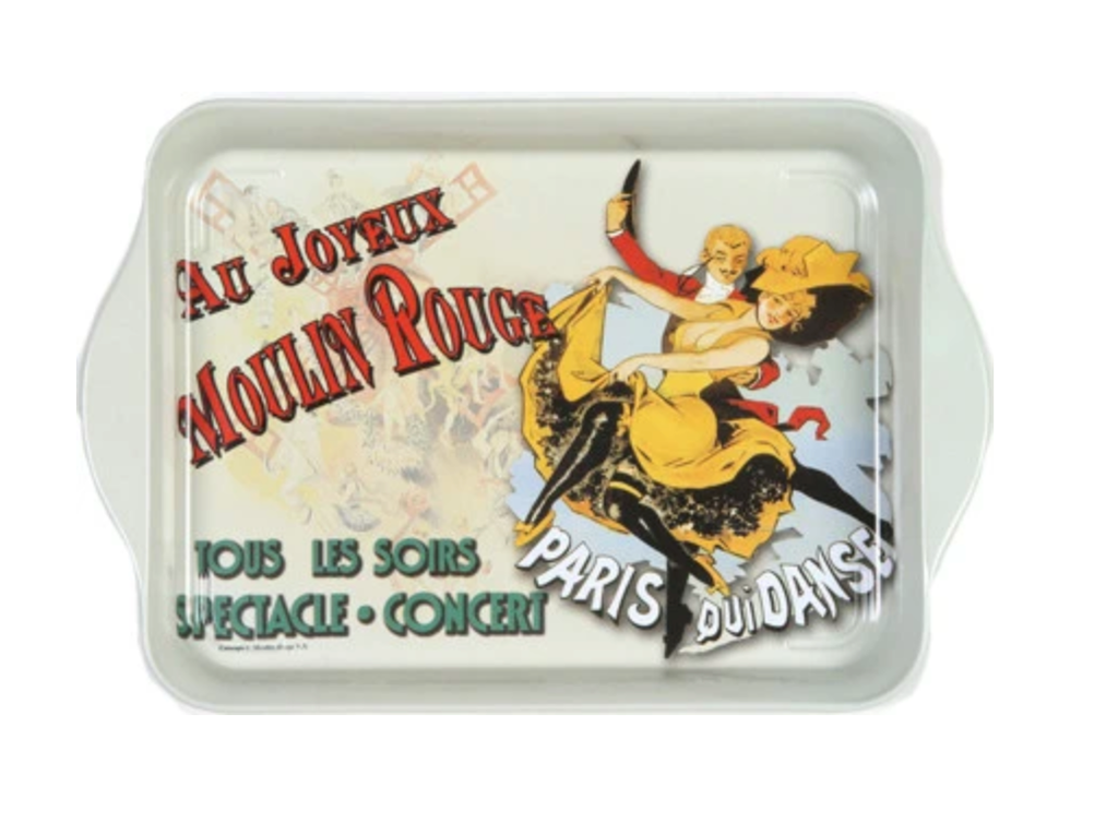 Au Joyeux Moulin Rouge Mini Metal Tray