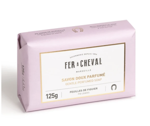 Fer à Cheval Gentle Perfumed Soap Bar - Fig Leaves 125g