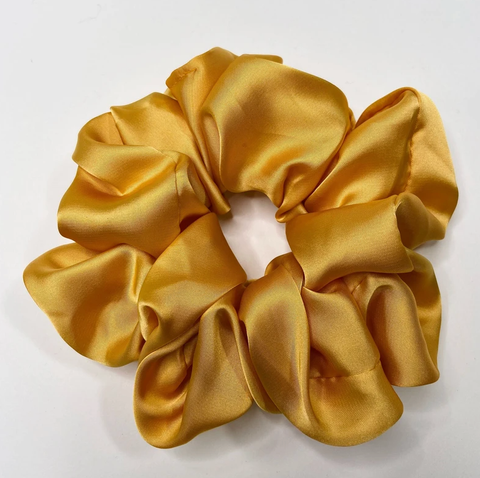 Image of Large Silk Duchess Scrunchie