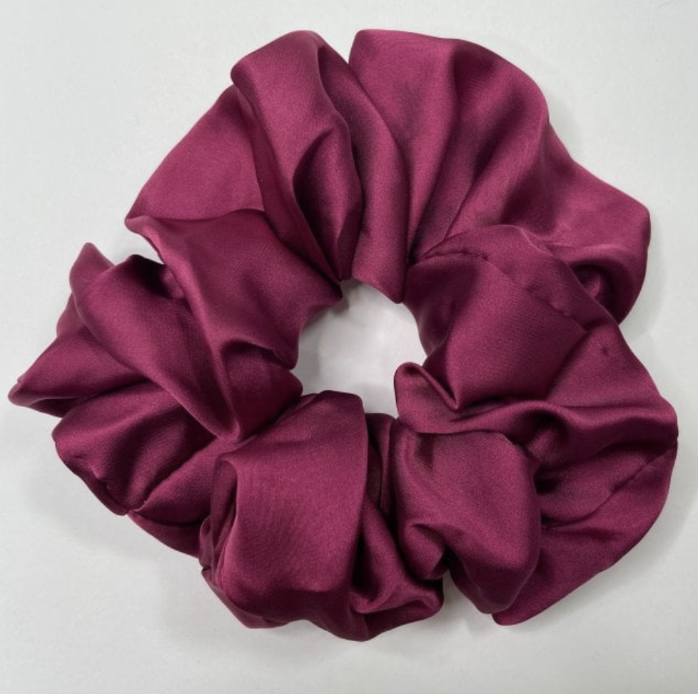 Large Silk Duchess Scrunchie