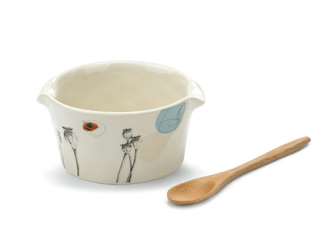 Image of Nibbles Appetizer Bowl with Spoon
