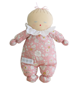 Asleep Awake Baby Doll - Pale Pink