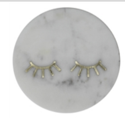 Inlaid Marble Tray - Lashes