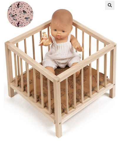 Wooden Playpen for Dolls - Jojo