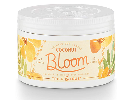 Coconut Bloom Candle - Small Tin