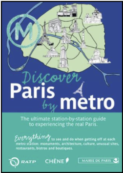 Discover Paris by Metro Book