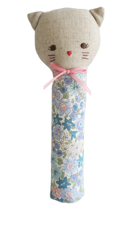 Alimrose Odette Kitty Squeaker Liberty Blue