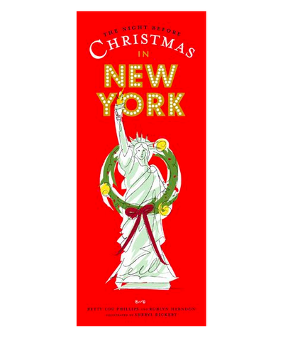 The Night Before Christmas in New York Children's Book