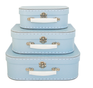 Image of Alimrose Pale Blue Kid's Carry Case