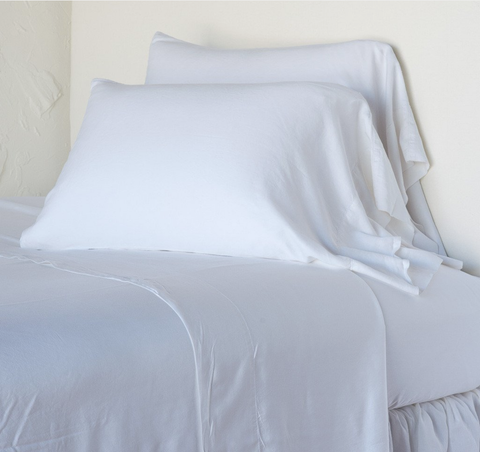 Bella Notte Linens Madera Luxe Flat Sheet - AtHomewithBethandChad.com