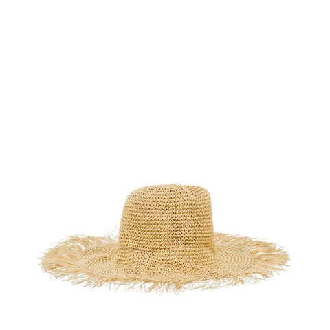 Straw Hat in Natural