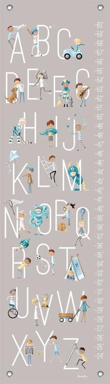 B is for Boys Growth Chart