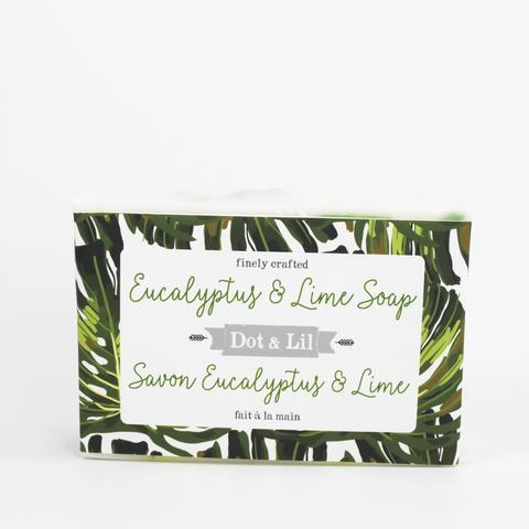Image of Eucalyptus & Lime Soap