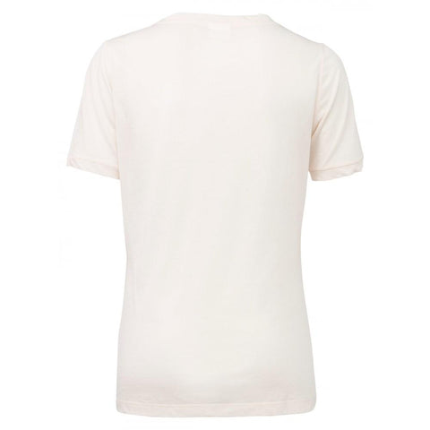 Image of Fine Knit Jersey V-Neck