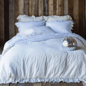 Bella Notte Linens Linen Flat Sheets Quick Ship Kendall and Everett