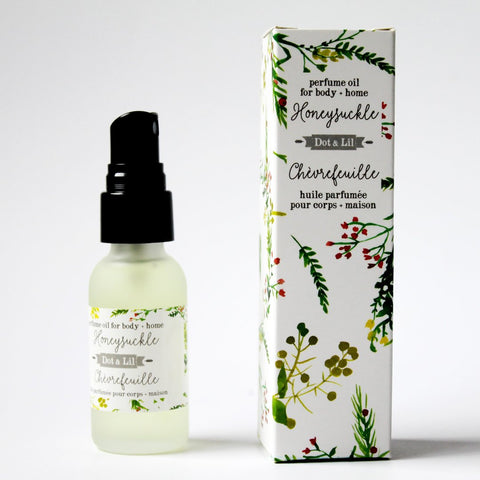 honeysuckle perfume oil