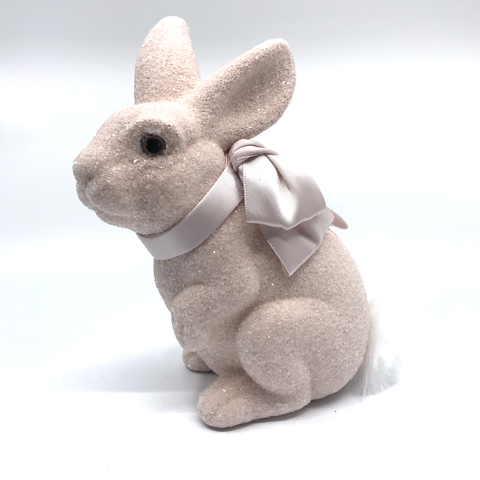 Image of Bunny with Ribbon by Sherri's Design