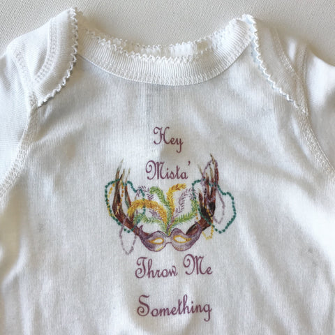 Baby Onesie with Trim