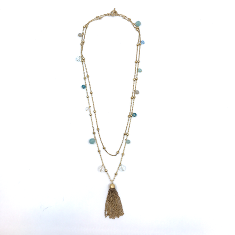 Tassel Necklace by Catherine Popesco