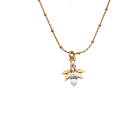 Image of Bee Necklace by Catherine Popesco