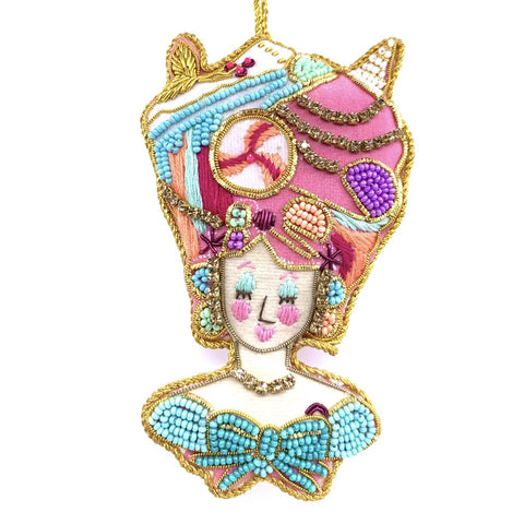 Beaded Parisian Le Sweet Ornaments