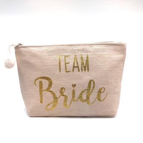 Team Bride Cosmetic Bag