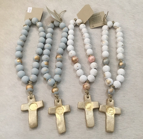 Image of Tracy Prayer beads 12""