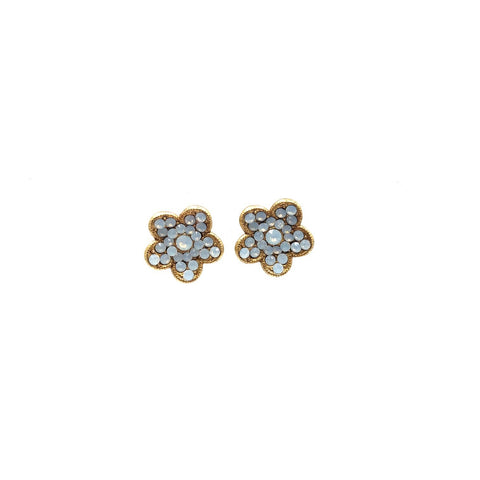 Image of Flower Stud Earring by Catherine Popesco