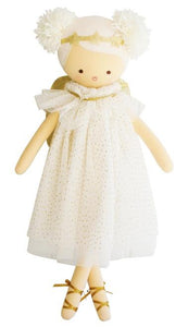 Angel Doll Gold Sparkle
