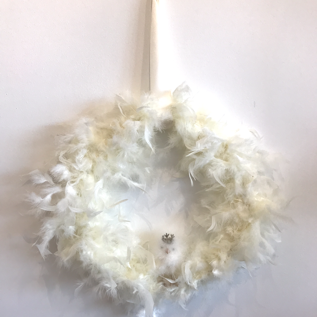 Chick Feather Wreath