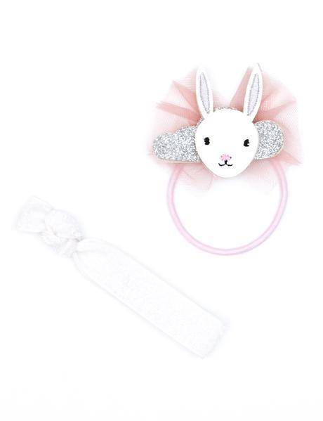 Dreaming Bunny Hair Elastic Set by Lily & George