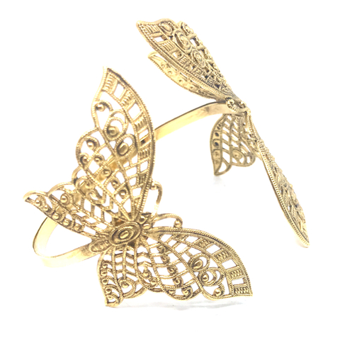 Image of Double Butterfly Bracelet