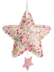 Alimrose Star Musical - Blush Linen and Rose Garden