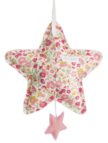 Image of Star Musical - Blush Linen and Rose Garden