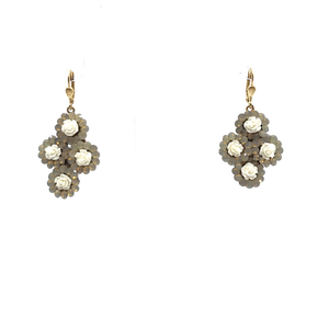 Four Flower Earring by Catherine Popesco