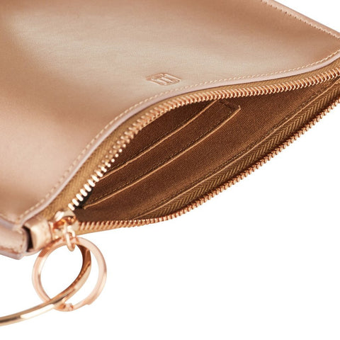 Big O Bracelet Bag - Rose Gold