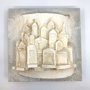 New Orleans Cemetery 8x8 Artwork