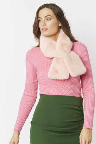 Image of Faux Fur Scarf