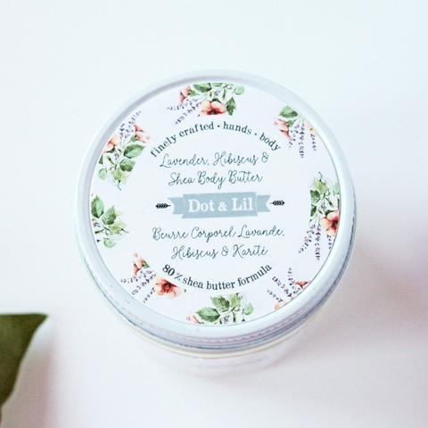 Image of Lavender, Hibiscus, & Shea Body Butter