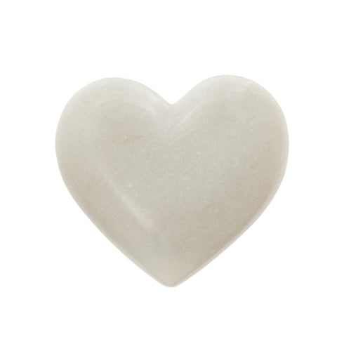 Image of White Marble Heart