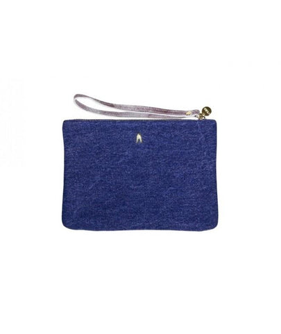 Stone Jean Clutch by Craie