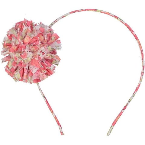 Image of Fabric Pom Headband